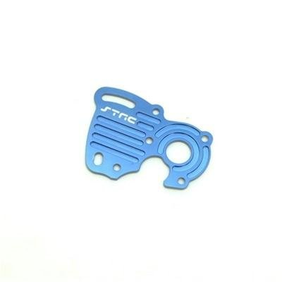 ST Racing Concepts ST7077B CNC Machined Aluminum Motor Heat Sink Plate, Blue - 1