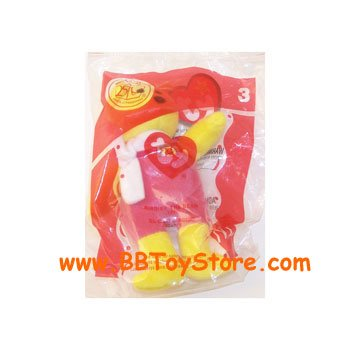 1 X TY McDonald's Teenie Beanie - #3 BIRDIE the Bear (2004) - 1