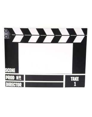 Amazon.com: New Hollywood Movie Director Clap Board ...