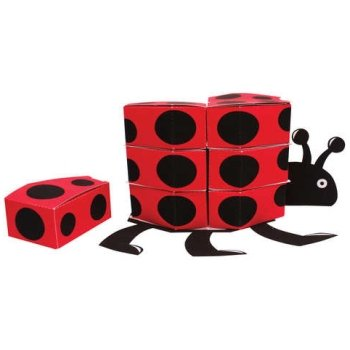 Ladybug Fancy Centerpiece Favor Boxes