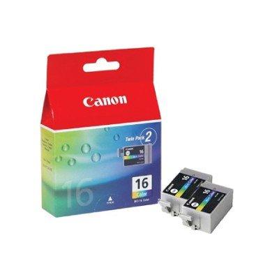 2x Druckerpatronen von Canon für Pixma IP 90 (Color Patrone) IP90 Tintenpatronen, 2 ml 100 Seit.