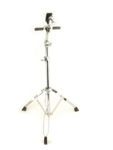 Double Braced Bongo Stand Adjustable, Chrome,
