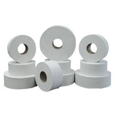 Green Heritage 062 12 Inch Diameter X 3.42 Inch Width, Economy Size, 2-Ply Jumbo Roll Bathroom Tissue (Case Of 6) front-114943