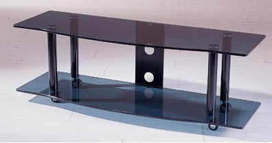 TransDeco TD108AB 53in. Cart TV Stand