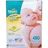 Pampers Sensitive Thickcare Wipes - 480ct Baby Wipes ~ Pampers