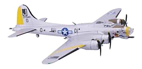 B-17G Flying Fortress Liberty Belle Aircraft Built-Up Die Cast 1-155 Model Power