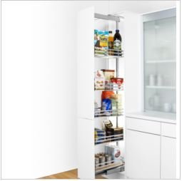 Peka Linea Pull-out Larder System - 300mm Width (300 Millimeters, 1,400 Millimeters)