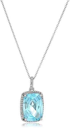Sterling-Silver-Concave-Cut-Sky-Blue-Topaz-and-Diamond-Cushion-Pendant-Necklace-18