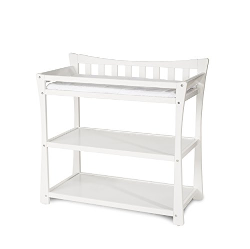 Child craft parisian dressing table white furniture baby for Child craft changing table