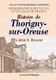 """Afficher """"Histoire de Thorigny-sur-Oreuse"""""""