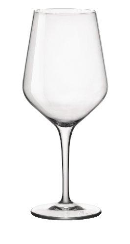 Bormioli Rocco Electra Glasses, X-Large, Clear, Set of 6 (Cabernet Wine Glasses Bormioli compare prices)