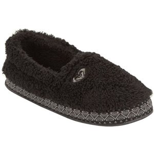 Image of Roxy Women's Snikerdoodle Black Slippers (B004Q9OSNG)