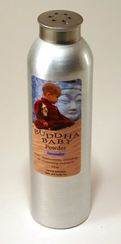 Personalized Buddha Baby Fresh Powder With Pink Font On Label