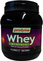 Protyne 100% All Natural Whey Protein Powder Dairy Cholov Yisroel - Forest Berry - 2 LB