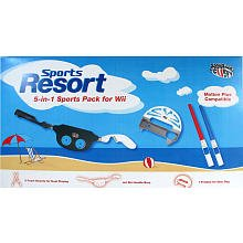iConcepts Sports Resort 5-in-1 Sports Pack for Wii
