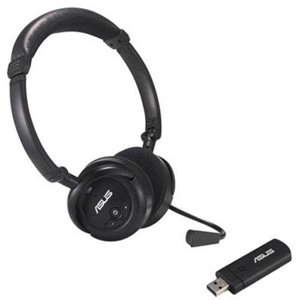 Travelite HS-1000W USB Wireless Headset for Music Gaming & VoIP