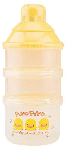 Piyo Piyo Two-Chamber Dispenser and Nipple Case - 1