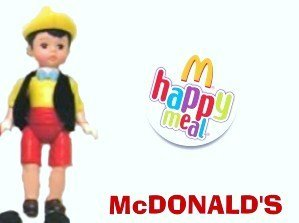 McDonalds Happy Meal Madame Alexander Pinocchio Boy Doll Toy #6 2004 - 1