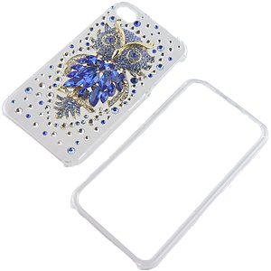 Bird of Minerva Crystal 3D Diamante Protector Case for iPhone 4S / iPhone 4