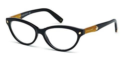 Occhiali da vista per donna Dsquared2 DQ5116 001 - calibro 54
