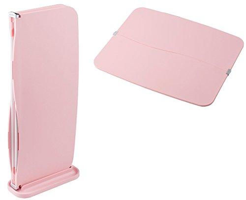 グリューセン たためる抗菌まな板 水切りスタンド付き 1枚 ピンク GR-KG01PK1