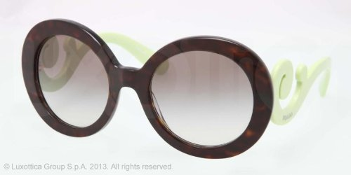 prada Prada PR27NS Sunglasses-QFL/0A7 Havana (Gray Gradient Lens)-55mm