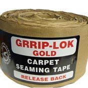 Grrip-Lok Gold Carpet Seaming Tape - Case of 10 Rolls