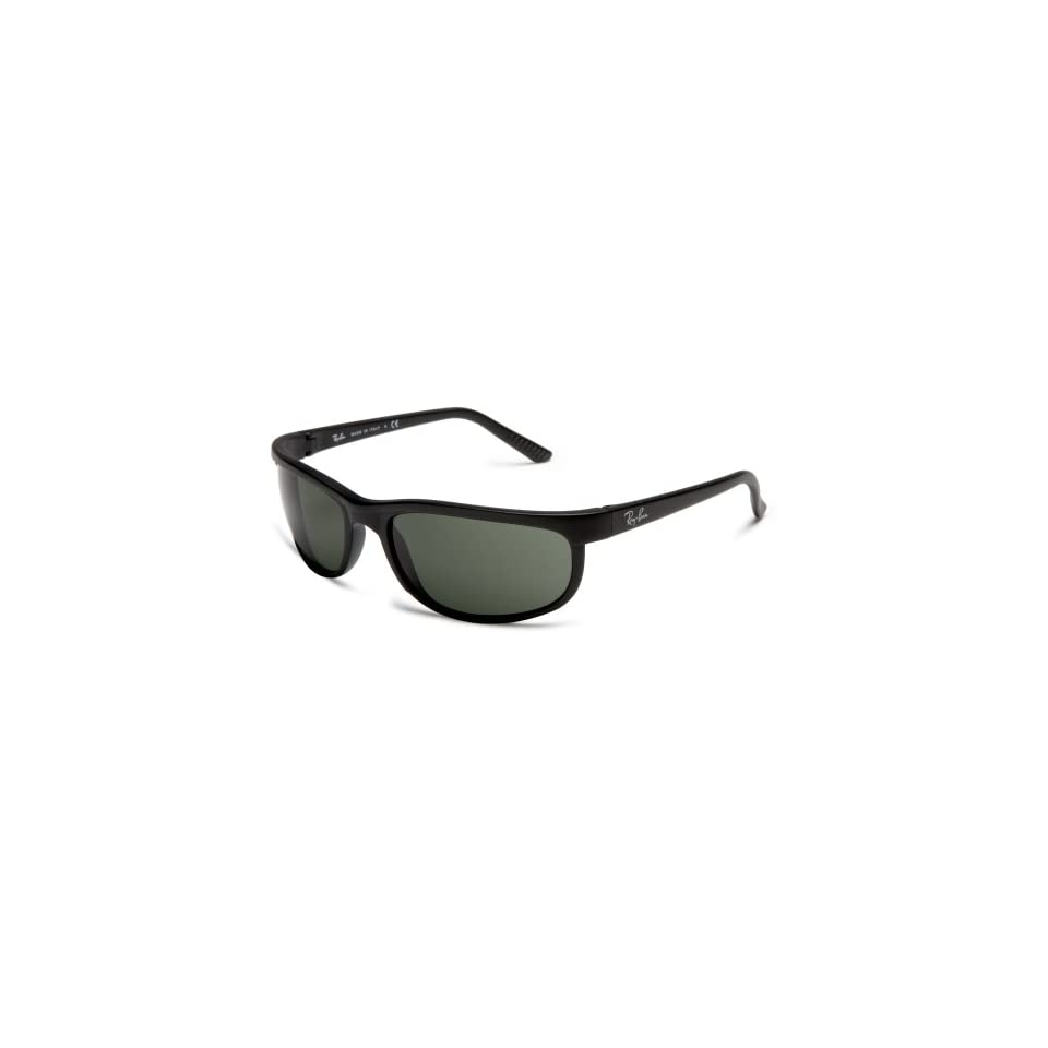 0a57d7a8fe Ray Ban PREDATOR 2 BLACK  MATTE BLACK Frame CRYSTAL GREEN Lenses 62mm Non  Polarized