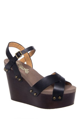 Flogg Liliana High Wedge Ankle Strap Sandal