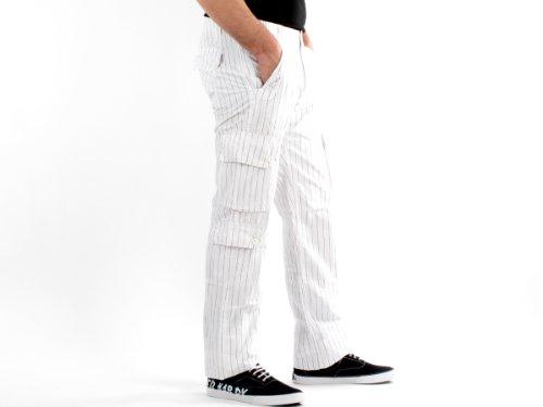 Antik Kustom 10235 Loose White Man Trousers Men - 44