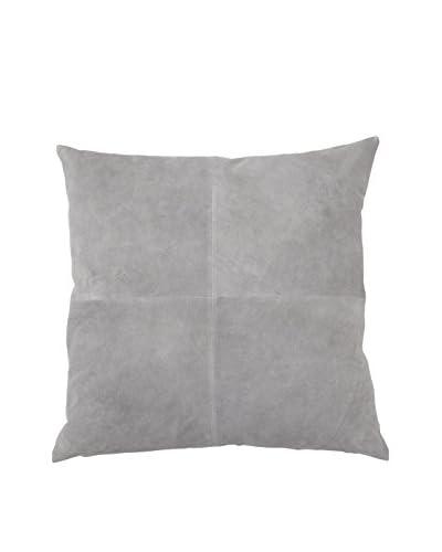 Lene Bjerre Genevia Cement-Grey Throw Pillow