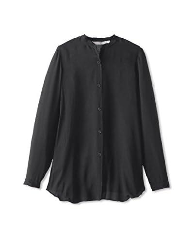 Lola & Sophie Women's Button Up Sheer Shirt