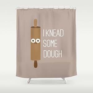 society6 short bread shower curtain by david