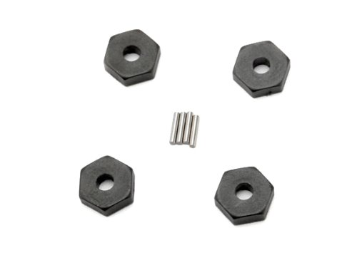 Traxxas 7154 Wheel Hubs Hex, 4-Piece and Axle Pins 1/16 Vehicles, 4-Piece