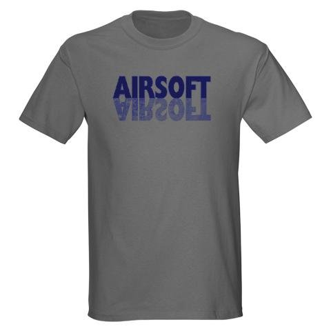 AIRSOFT Sports Dark T-Shirt by CafePress