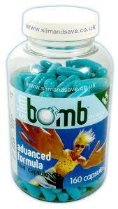Slim Bomb Diet & Weight Loss Pills (40 Days) with Slimming Tea FOC- Slimming Pills