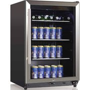 Midea Whs-169Se 138-Can Cooler, Stainless Steel