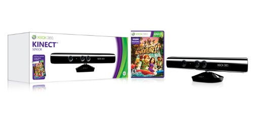 Kinect Sensor with Kinect Adventures! (Xbox Kinect Sensor Xbox 360 compare prices)