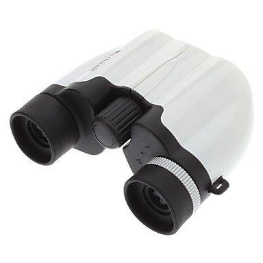 Xs 10X21 Super Mini Fashionable Folding Outdoor Binocular Telescope(White)