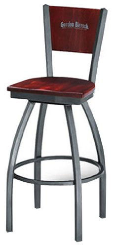 Custom Bar Stools Cheapest Satin Nickel W Clearcoat
