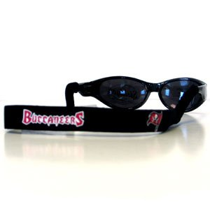Tampa Bay Buccaneers Neoprene Sunglass Strap - NFL Football Fan Shop Sports Team Merchandise