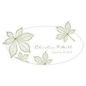 Weddingstar-1001-18-c12-Autumn-Leaf-Large-Cling-Willow-Green