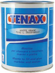 Tenax 1Caa00Bg50 Polyester Knife Grade H Adhesive, 1L Capacity, Transparent (Pack Of 12)