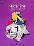 A Line a Day Sight Reading, Level 1 By Jane Smisor Bastien. For Piano. Sight Reading. Bastien Piano Basics. Elementary. Method Book.