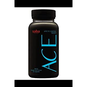 Saba ACE A.C.E Appetite Control Energy Dietary Supplement Pills 60 count