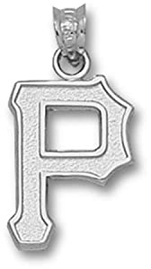 Pittsburgh Pirates MLB P 5 8 Pendant (Silver) by Logo Art