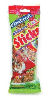 Image of Vitakraft Small Animal Wildberry Kracker Sticks (B002DZFYE2)