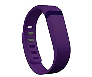 Replacement Wrist Band for Fitbit Flex (Deep Purple, Small)