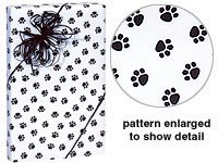 trendy-paw-print-black-white-gift-wrap-wrapping-paper-16-foot-roll-pet-cat-dog-school-mascot