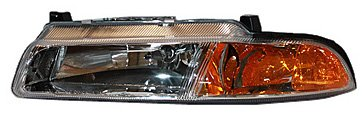 TYC 20-5400-00 Dodge/Plymouth Driver Side Headlight Assembly (Plymouth Breeze Headlight compare prices)